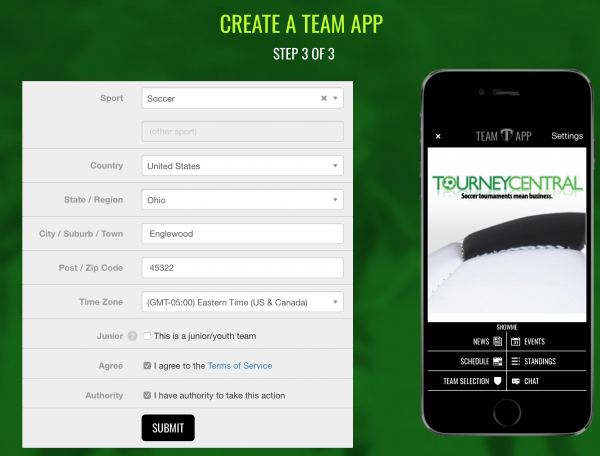 Step Three Team App