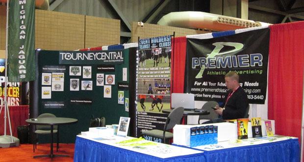 2012 NSCAA Booth